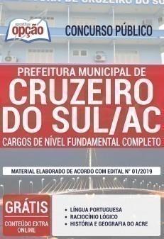 CARGOS DE NÍVEL FUNDAMENTAL COMPLETO