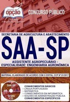ASSISTENTE AGROPECUÁRIO - ESPECIALIDADE: ENGENHARIA AGRONÔMICA