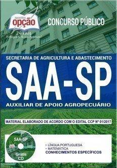 AUXILIAR DE APOIO AGROPECUÁRIO