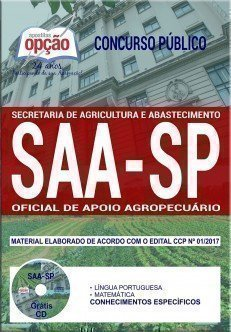 OFICIAL DE APOIO AGROPECUÁRIO