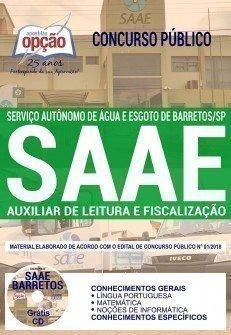 AUXILIAR DE LEITURA E FISCALIZAÇÃO