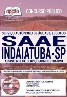 ASSISTENTE DE SERVIÇO ADMINISTRATIVO