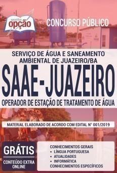 OPERADOR DE ESTAÇÃO DE TRATAMENTO DE ÁGUA