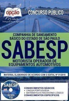 MOTORISTA OPERADOR DE EQUIPAMENTOS AUTOMOTIVOS