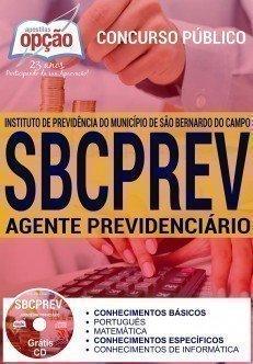 Apostila Concurso SBCPrev 2016 Agente Previdenciário