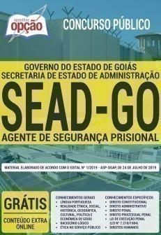 AGENTE DE SEGURANÇA PRISIONAL
