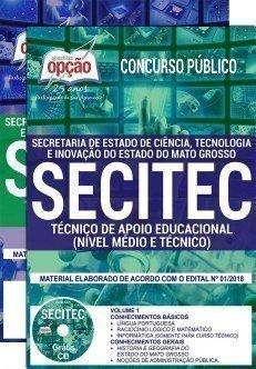 TÉCNICO DE APOIO EDUCACIONAL - NÍVEL MÉDIO E TÉCNICO
