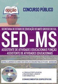 ASS. DE ATIVIDADES EDUCACIONAIS - FUNÇÃO: ASS. DE ATIVIDADES EDUCACIONAIS