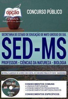 PROFESSOR - CIÊNCIAS DA NATUREZA - BIOLOGIA