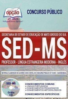 PROFESSOR - LÍNGUA ESTRANGEIRA MODERNA - INGLÊS