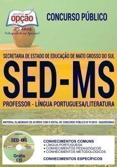 PROFESSOR - LÍNGUA PORTUGUESA/LITERATURA