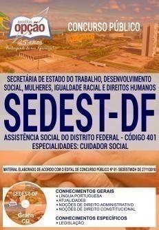 ASSISTÊNCIA SOCIAL DO DISTRITO FEDERAL - CUIDADOR SOCIAL