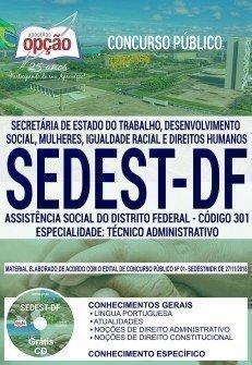 ASSISTÊNCIA SOCIAL DO DISTRITO FEDERAL - TÉCNICO ADMINISTRATIVO