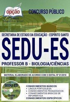 PROFESSOR B - BIOLOGIA/CIÊNCIAS