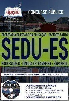 PROFESSOR B - LÍNGUA ESTRANGEIRA - ESPANHOL