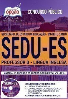 PROFESSOR B - LÍNGUA INGLESA