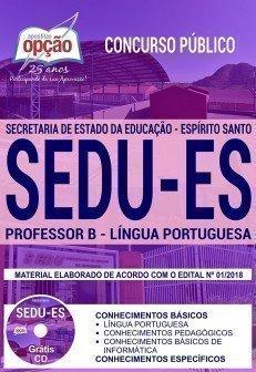 PROFESSOR B - LÍNGUA PORTUGUESA