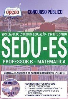 PROFESSOR B - MATEMÁTICA