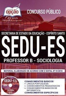 PROFESSOR B - SOCIOLOGIA