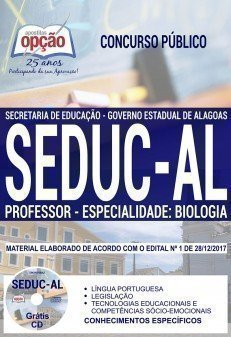 PROFESSOR - ESPECIALIDADE: BIOLOGIA