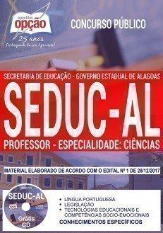 PROFESSOR - ESPECIALIDADE: CIÊNCIAS