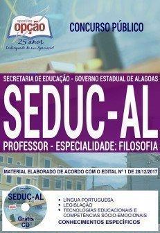PROFESSOR - ESPECIALIDADE: FILOSOFIA