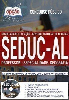 PROFESSOR - ESPECIALIDADE: GEOGRAFIA