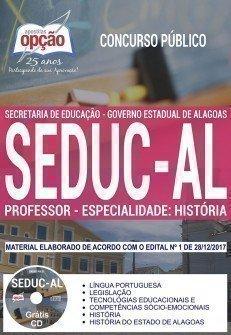 PROFESSOR - ESPECIALIDADE: HISTÓRIA