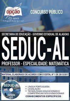 PROFESSOR - ESPECIALIDADE: MATEMÁTICA