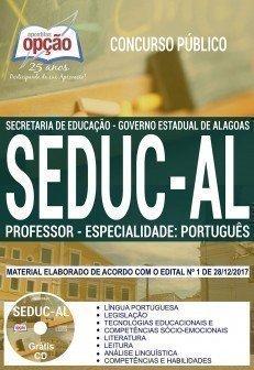 PROFESSOR - ESPECIALIDADE: PORTUGUÊS