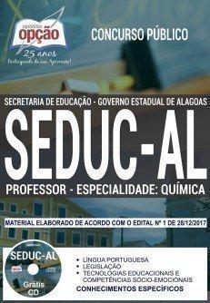 PROFESSOR - ESPECIALIDADE: QUÍMICA