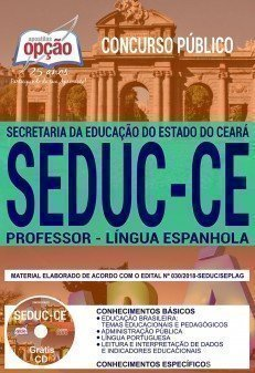 PROFESSOR - LÍNGUA ESPANHOLA