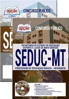 PROFESSOR DE EDUCAÇÃO BÁSICA - GEOGRAFIA