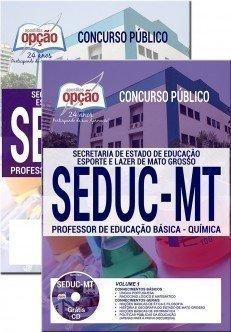 PROFESSOR DE EDUCAÇÃO BÁSICA - QUÍMICA