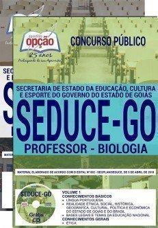 PROFESSOR - BIOLOGIA