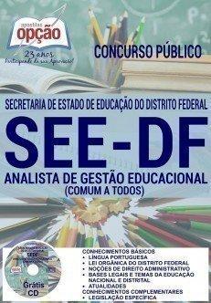 Apostila see-df ANALISTA DE GESTÃO EDUCACIONAL (COMUM A TODOS)