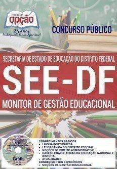 Apostila SEE/DF MONITOR DE GESTÃO EDUCACIONAL