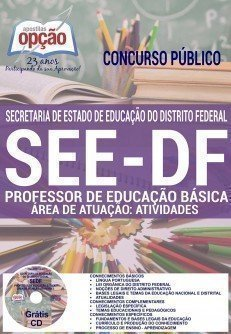PROFESSOR DE EDUCAÇÃO BÁSICA - ÁREA DE ATUAÇÃO: ATIVIDADES