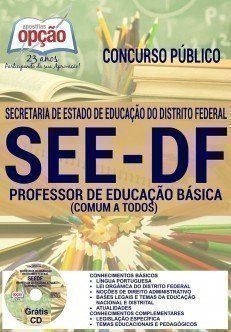 Apostila seed/df PROFESSOR DE EDUCAÇÃO BÁSICA (COMUM A TODOS)