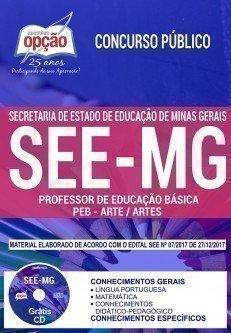 PROFESSOR DE EDUCAÇÃO BÁSICA - PEB - ARTE / ARTES