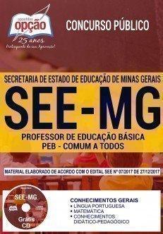 PROFESSOR DE EDUCAÇÃO BÁSICA - PEB - (COMUM A TODOS OS CARGOS)