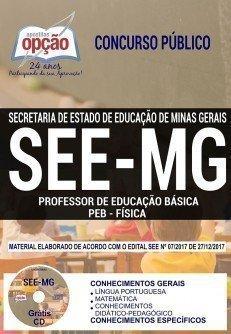 PROFESSOR DE EDUCAÇÃO BÁSICA - PEB - FÍSICA