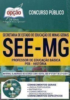 PROFESSOR DE EDUCAÇÃO BÁSICA - PEB - HISTÓRIA