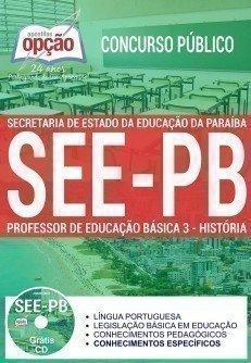 PROFESSOR DE EDUCAÇÃO BÁSICA 3 - HISTÓRIA