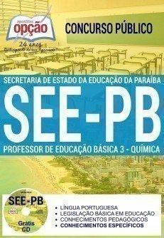 PROFESSOR DE EDUCAÇÃO BÁSICA 3 - QUÍMICA