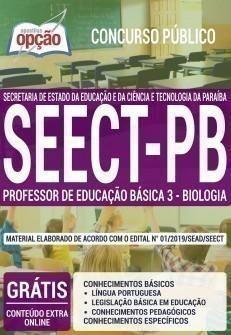 PROFESSOR DE EDUCAÇÃO BÁSICA 3 - BIOLOGIA