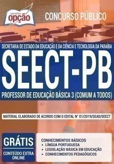 PROFESSOR DE EDUCAÇÃO BÁSICA 3 (COMUM A TODOS)