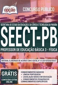 PROFESSOR DE EDUCAÇÃO BÁSICA 3 - FÍSICA