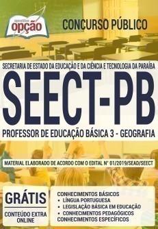 PROFESSOR DE EDUCAÇÃO BÁSICA 3 - GEOGRAFIA
