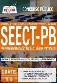 PROFESSOR DE EDUCAÇÃO BÁSICA 3 - LÍNGUA PORTUGUESA